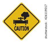 gas leak warning sign....   Shutterstock .eps vector #426119017