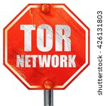 tor network  3d rendering  a...