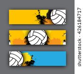 collection of vector banners... | Shutterstock .eps vector #426184717