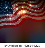 fireworks background for 4th of ... | Shutterstock . vector #426194227
