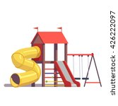 Kids Playground Equipment With...