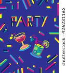 party poster template with... | Shutterstock .eps vector #426231163