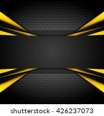 dark tech corporate abstract... | Shutterstock .eps vector #426237073