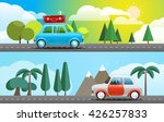 take vacation travelling...   Shutterstock .eps vector #426257833