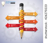 infographic template. data... | Shutterstock .eps vector #426270223