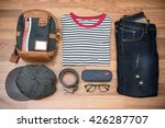 Flat Lay Photography Of Men's...