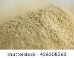 pile of dry ginger powder... | Shutterstock . vector #426308263