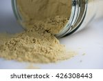 dry ginger powder isolated in... | Shutterstock . vector #426308443