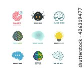 brain  creation  invention ... | Shutterstock .eps vector #426319477