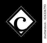 c logo.. vector graphic... | Shutterstock .eps vector #426336793