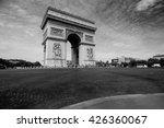 arc de triumph | Shutterstock . vector #426360067