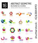 abstract geometric business... | Shutterstock .eps vector #426384493