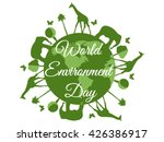 world environment day  planet...