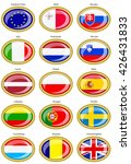 set of icons. flags of the... | Shutterstock .eps vector #426431833