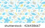 vector seamless pattern with... | Shutterstock .eps vector #426438667