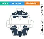 baseball face protector icon....   Shutterstock .eps vector #426443203