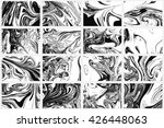 set ink texture of 16... | Shutterstock .eps vector #426448063