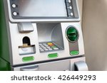 green atm machine | Shutterstock . vector #426449293