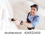 close up portrait of a young... | Shutterstock . vector #426522433