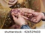 malay wedding groom's mother... | Shutterstock . vector #426529603