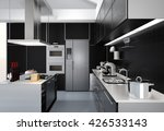 modern kitchen interior with... | Shutterstock . vector #426533143