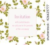 vintage floral vector pattern... | Shutterstock .eps vector #426625777