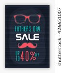 father's day sale template ... | Shutterstock .eps vector #426651007