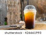 coffee   iced americano black... | Shutterstock . vector #426661993
