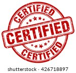 certified. stamp | Shutterstock .eps vector #426718897