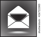 mail sign icon  vector... | Shutterstock .eps vector #426722383