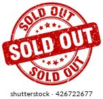 sold out. stamp | Shutterstock .eps vector #426722677