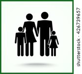 family sign icon  vector... | Shutterstock .eps vector #426739657