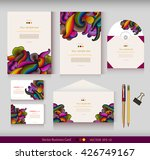 corporate identity. vector... | Shutterstock .eps vector #426749167