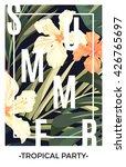 summer tropical hawaiian... | Shutterstock .eps vector #426765697