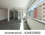 interior of empty apartment ... | Shutterstock . vector #426810883