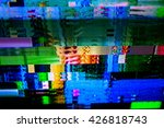 television failure  lcd screen... | Shutterstock . vector #426818743