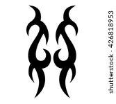 tattoo tribal vector designs... | Shutterstock .eps vector #426818953