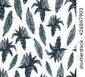 tropical trendy vector seamless ... | Shutterstock .eps vector #426847903