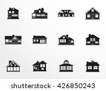 set of vector icons on the... | Shutterstock .eps vector #426850243