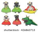 Cute Fairytale Pugs  King ...
