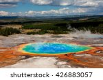 grand prismatic springs | Shutterstock . vector #426883057