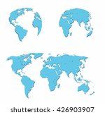 vector illustration set   map... | Shutterstock .eps vector #426903907