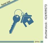 vector illustration keychain... | Shutterstock .eps vector #426909073