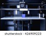 head of 3d printer in action | Shutterstock . vector #426909223