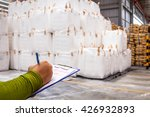 warehouse is commercial... | Shutterstock . vector #426932893
