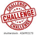 challenge. stamp | Shutterstock .eps vector #426992173