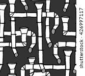 downspout pattern  | Shutterstock .eps vector #426997117