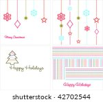 collection backgrounds for new... | Shutterstock .eps vector #42702544