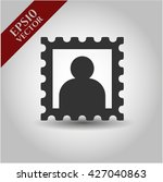 picture icon vector symbol flat ...   Shutterstock .eps vector #427040863