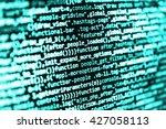 software source code.... | Shutterstock . vector #427058113
